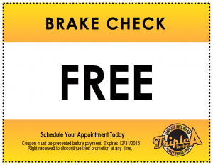 Triple A Muffler-Coupon-Brake Check
